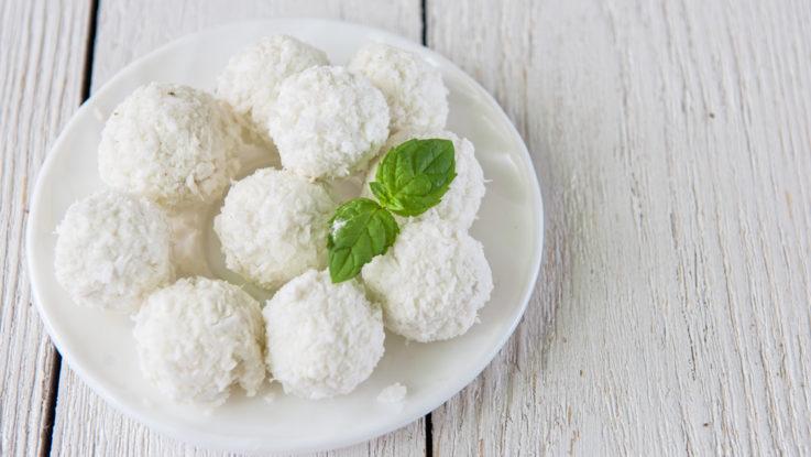 Recept na kokosové kuličky á la Rafaello