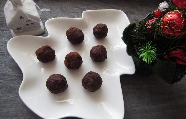 Zázvorové kuličky s holandským kakaem