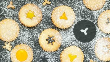 Recept na špaldové linecké cukroví