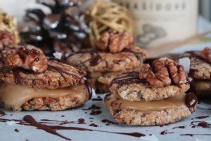 Sušenky s arašídovým krémem